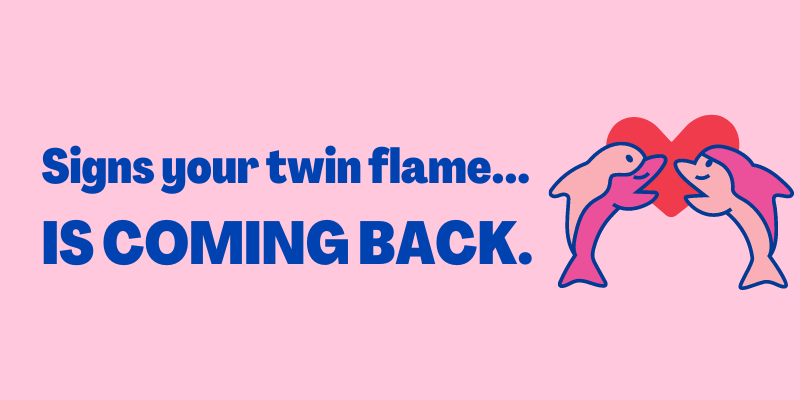 Signs Your Twin Flame Is Coming Back, signs of twin flame reunion is near